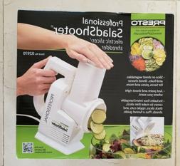 Presto 02970 Professional Salad Shooter Electric Slicer Shre