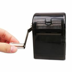 1*Hand Crank Grinder Tobacco Herbal Cutter Shredder Smoking
