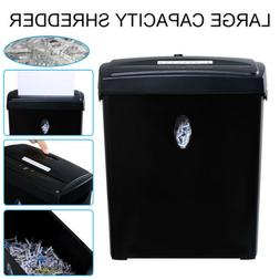 10 Sheet Cross-Cut Paper Credit Card Staples Shredder with B