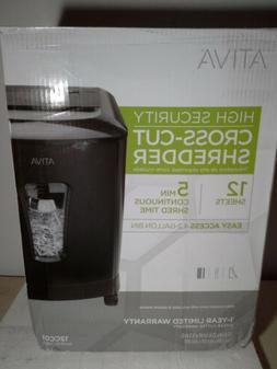 Ativa 12-Sheet High Security Cross Cut #12CC01