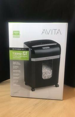 Ativa 12-Sheet High Security Cross Cut Paper Shredder A12CC1