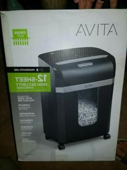 Ativa 12-Sheet High Security Cross Cut shredder new in open