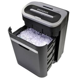 Royal 18 Sheet Cross-Cut Paper Shredder Heavy-Duty Large Cap