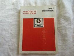 1976 Detroit Diesel Allison transmission HT 700D 740D 750DRD