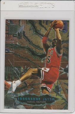 1997 Fleer Metal Shredders Foil Michael Jordan #241 Bulls Wh
