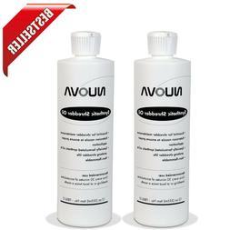2-Bottle Nuova Synthetic Paper Shredder Oil, 12 Oz. Bottle w