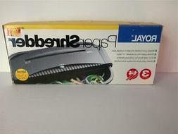 Royal 3 Sheets Paper Shredder JAWS JS1100 For Home Office