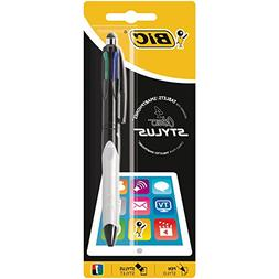 BIC 4 Coulours Stylus Ballpoint Pen 1 Pack