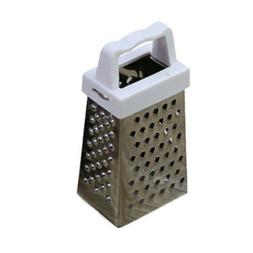 4 Sided Stainless Steel Box Grater Cheese Carrot Food Shredd