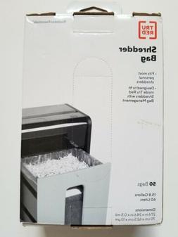 Tru Red 424154 Shredder Bags 15.8 Gal  50/Pack