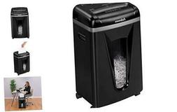 450M 9-Sheet Micro-Cut Paper and Credit Card Shredder with S
