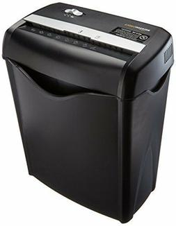 AmazonBasics 6 Sheet Cross-Cut Paper and Credit Card Shredde