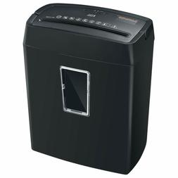 6-Sheet Cross-Cut Paper High-Security P4 Office Shredders Tr