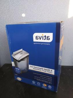 Ativa 6-Sheet Diamond Cut Shredder NEW