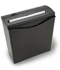 Royal - 5-sheet Strip Cut Paper Shredder - Black