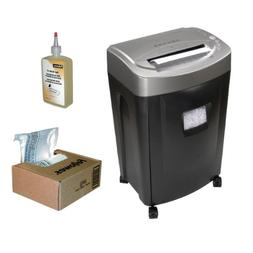 Royal MC14MX 14 Sheet Micro Cut Shredder + 100-Pack of Shred