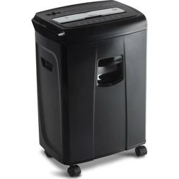 A Quality 12-Sheet Crosscut Paper and Credit Card Shredder w