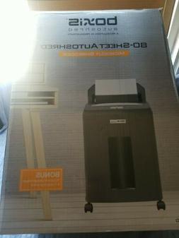 Boxis AF80 AutoShred 80-Sheet Micro Cut Paper Shredder … 8