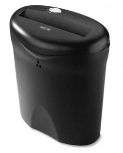 Aurora AS618SB 6 Sheet Strip Cut Paper Shredder with Basket