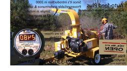 Bandit Morbark Woodsman Wood Chipper Engine Panel Tachometer