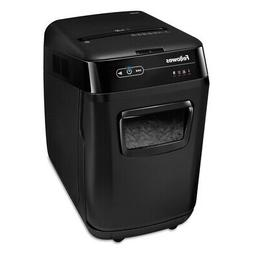 Fellowes AutoMax™ 200C Auto Feed Shredder, Cross Cut, 200