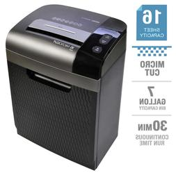 BRAND NEW Royal 16-sheet Micro-cut Shredder 7 Gallon Pullout