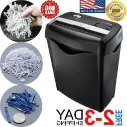 Commercial Office Shredder Paper Destroy Crosscut Heavy-duty