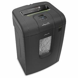 "Cross Cut Shredder, 19Sht Cap, 15""x12-3/5""x24"", BK"