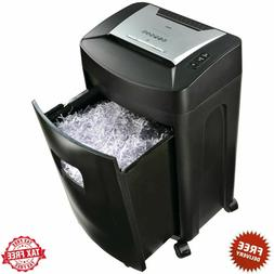 Royal 18-sheet Crosscut Commercial Shredder W/ Casters - Non