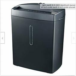 Bonsaii DocShred C560-D 6-Sheet High-Security Micro-Cut 6-Sh