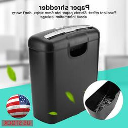 Electric Home Office Shredder Cutter 6 Paper Heavy Duty Cred