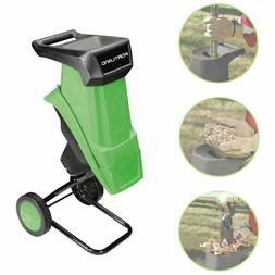 Electric Yard Chipper Shredder Garden Mulcher Branch Stick T
