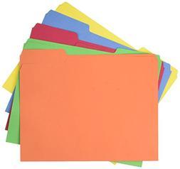 AmazonBasics AMZ401  File Folders - Letter Size  – Assorte