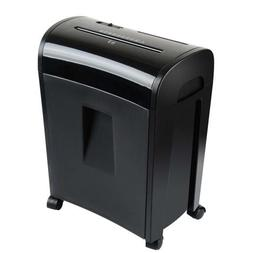 Zoomyo File Shredder - Shreds up to 10 Sheets of Paper; CDs,