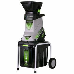 gs70015 15-amp electric garden chipper/shredder with collect