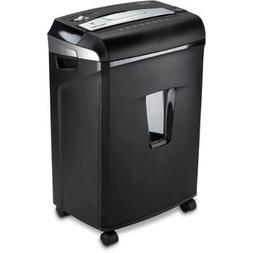 JamFree, 3.7 Gallon Pull-Out Wastebasket, 12-Sheet Cross-Cut