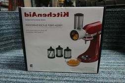 KitchenAid KSMVSA Fresh Prep Slicer Shredder Attachment Culi