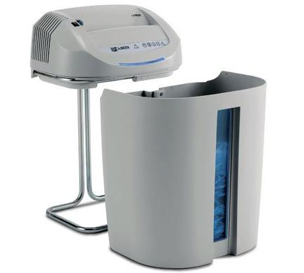 KOBRA SS7 Professional Small Shredder; 27 Paper at DVDs and Cards; Carbon Unaffected by Staples Clips