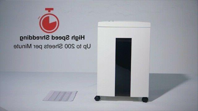 WOLVERINE 10-Sheet Super Micro Cut High P5-White