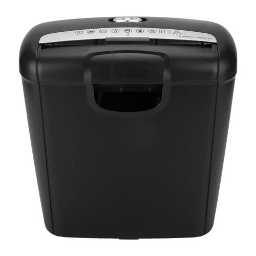 10L Strip Cut Shredder Destroy Credit Heavy Duty Business Home Office
