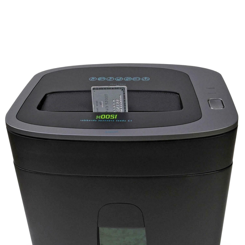 Royal 1200X Paper Shredder, 12 Sheet Capacity! Brand New! Fr