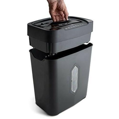 Credit Card Shredder 5.2-gallon Wastebasket