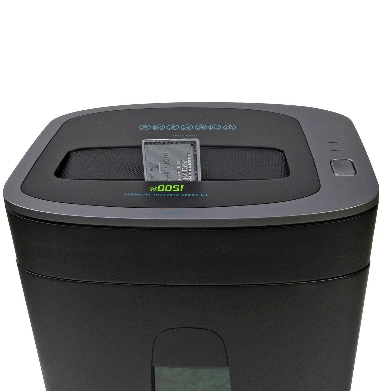 Royal Paper Shredder, 12 Sheet Capacity