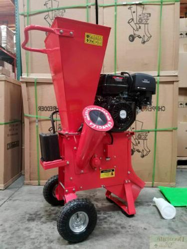 15hp 420cc gas powered wood