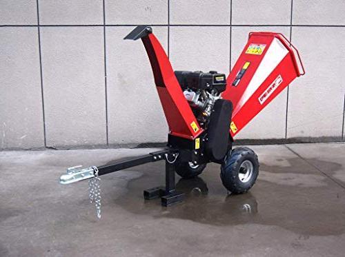 15HP Gasoline Wood Chipper Shredder Mulcher, Electric Start