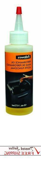 Fellowes 16 Office Shredder Performance Oil