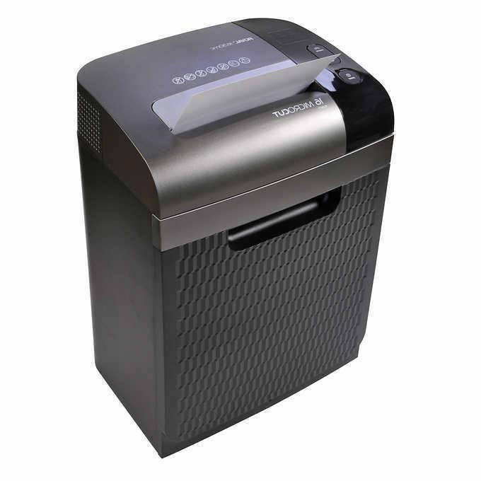 Royal 16-sheet Home Office File Micro-Cut Shredder with 7 Ga