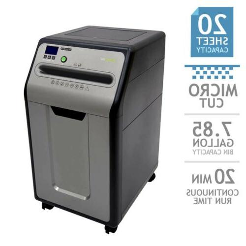 GoECOlife Micro-Cut Shredder, Bin