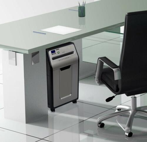 GoECOlife Under-Desk Front-Load Micro-Cut Bin