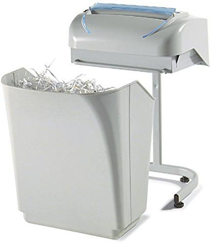 "Kobra 240 Security Cut Shredder, Hours Continuous Duty Motor, Duty Chain Drive Steel ""SUPER POWER"
